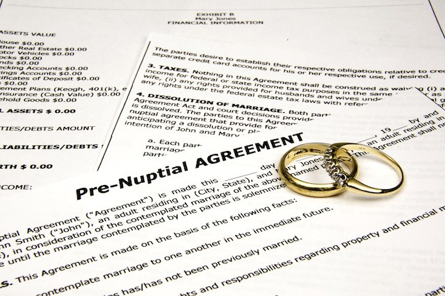 What You Should Include In A Pre Or Postnuptial Agreement